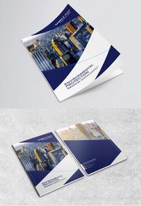 创意简约商务画册封面设计
