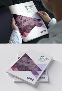 时尚精美企业封面设计