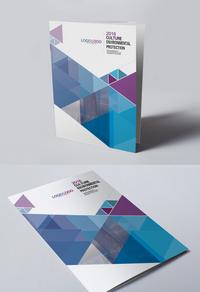 简约时尚招商手册封面设计