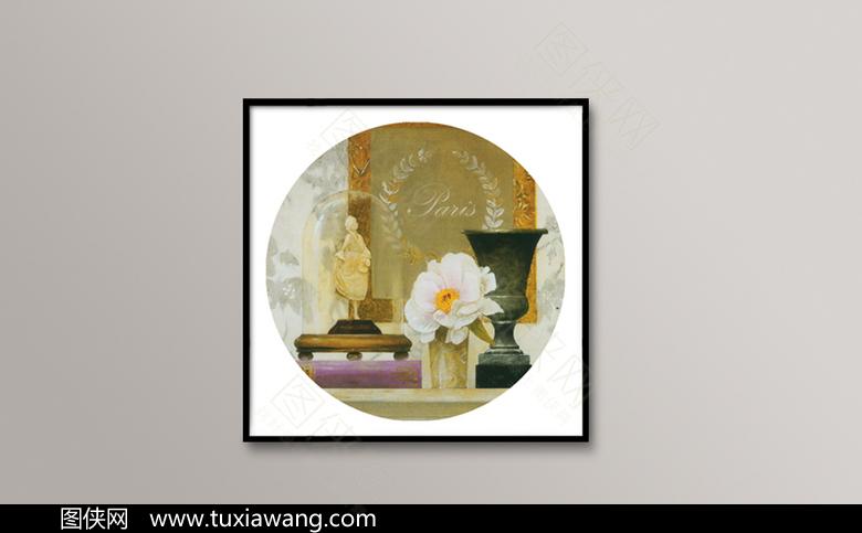 古典花卉装饰画下载