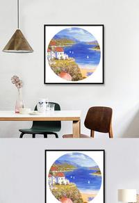 风景油画装饰画