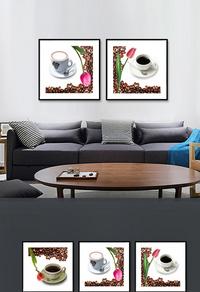 咖啡家居装饰画设计