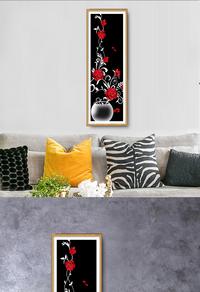 高清创意花卉植物挂画设计下载
