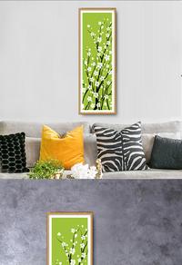 高清创意花卉植物挂画下载