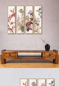 中式古典高清挂画设计下载