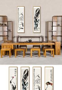 中式创意挂画模板设计下载