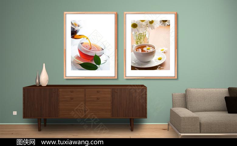 高清咖啡厅装饰画