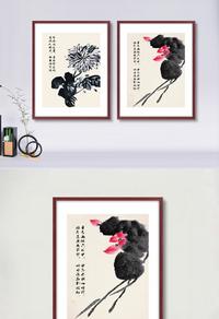 中国风水墨装饰画下载