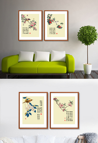 时尚中国风装饰画