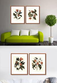 高清花卉装饰画下载
