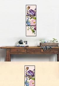 高档花卉装饰画下载