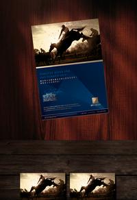高档房地产宣传海报模板