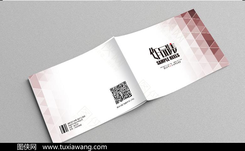 环艺设计 平面设计 装潢设计 毕业生 作品集模板 色彩作品 封面设计