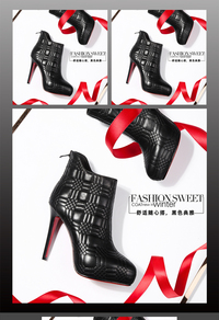 淘宝细高跟鞋女鞋主图素材