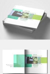 清新简约公司画册设计