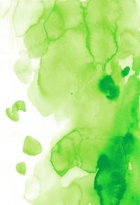 绿色晕染色块背景