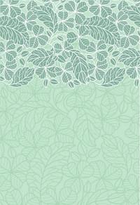 经典绿色抽象花纹背景
