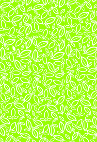 绿色抽象叶子花纹背景