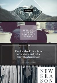 时尚品牌潮流推广图片展示