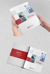 现代企业塑胶宣传册