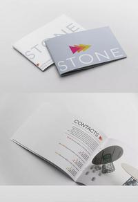 简约个性企业宣传画册