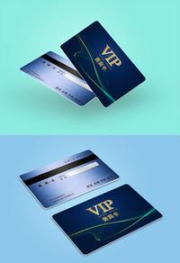 经典黑色商城VIP卡