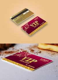 红色足疗VIP会员卡