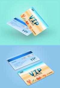美味海鲜订餐VIP卡