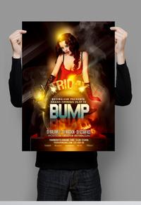 时尚个性欧美宣传海报
