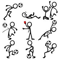 足球运动小人
