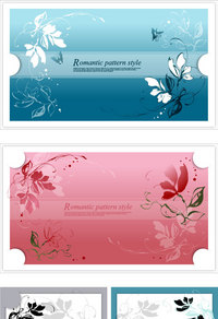 蝴蝶装饰卡片