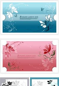 蝴蝶装饰卡片1