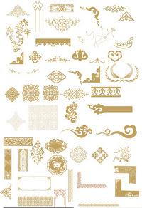 中国传统花纹