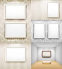 空白画框矢量
