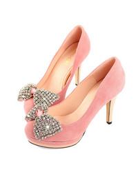 粉色高跟鞋素材