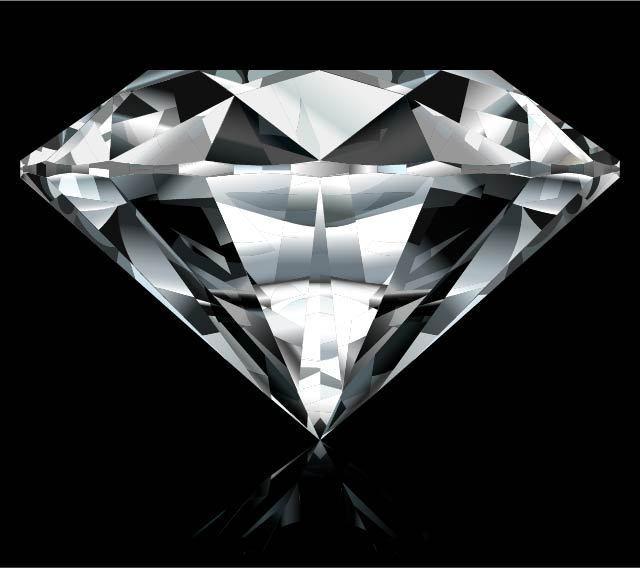 手绘一颗钻石