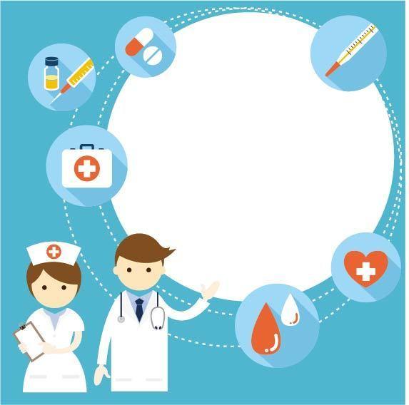 护士卡通_卡通护士与医生
