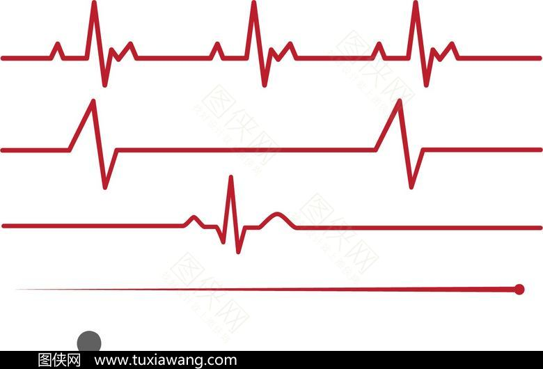 心电图 医疗 医学 线条 仪器 设计元素 电波 波形图 立即下载收藏