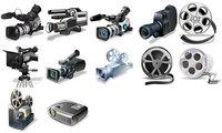 多种摄影机和胶片
