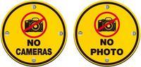 公共标志禁止拍照