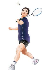 羽毛球运动员
