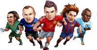卡通足球运动员素材