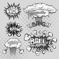 爆炸会话框元素