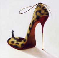 高跟鞋装饰画素材