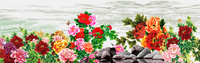 牡丹花开装饰画