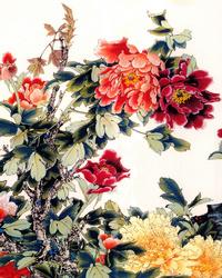 花牡丹装饰画1