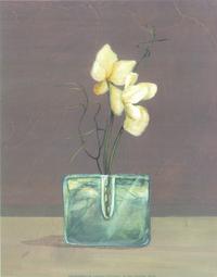 怀旧白花装饰画1