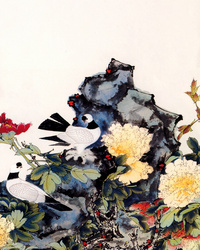 花牡丹装饰画2
