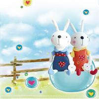卡通兔子装饰画1