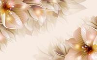 精美卡通花朵装饰画